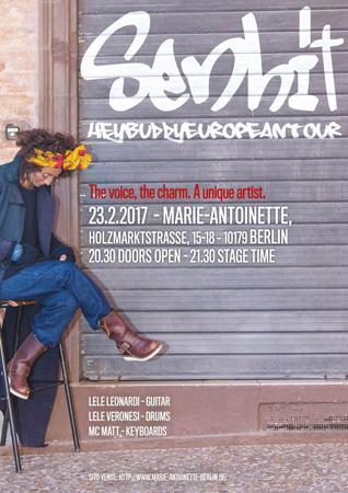 Senhit in concerto a Berlino