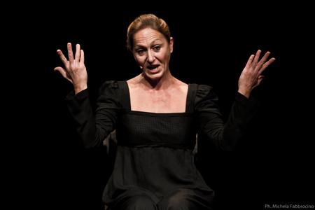 Lenòr con Nunzia Antonino regia Carlo Bruni al Teatro Tordinona di Roma