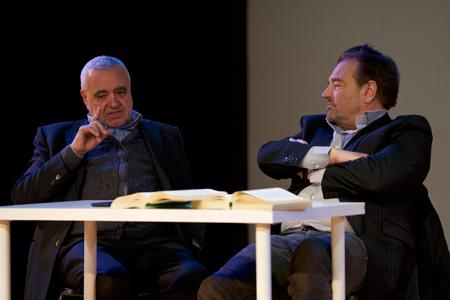 Tangentopoli, Sebastiano Somma e Augusto Zucchi al teatro Golden