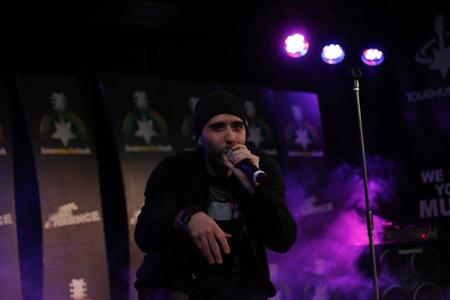 Il rapper milanese Peligro in concerto al Legend 54 di Milano