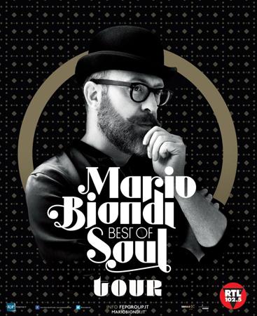 Mario Biondi in concerto con la Best Of Soul – Tour