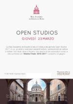 Open Studios alla Real Academia de España en Roma
