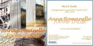 Anna Romanello. Forme Incise
