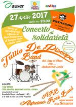 Tullio De Piscopo e Alzheimer Rock Band concerto di solidarietà per Auser Bologna e Cucine Popolari