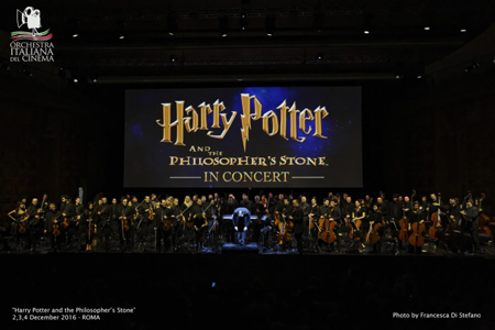 Harry Potter in Concerto con l'Orchestra Italiana del Cinema a Milano e Napoli