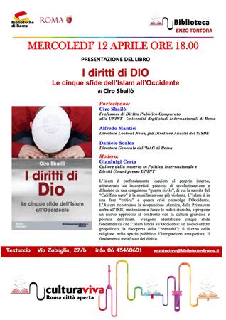 I Diritti di Dio: le cinque sfide dell'Islam all'Occidente, il libro di Ciro Sbailò