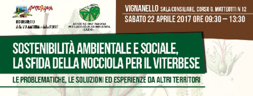 Sostenibilità ambientale e sociale, la sfida della nocciola per il viterbese