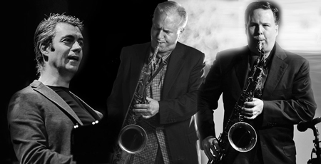 Andrea Pozza Trio meets Harry Allen & Scott Hamilton