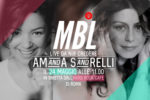 Amanda Sandrelli e Maria Beatrice Alonzi all'Hard Rock Cafe di Roma insieme per MBL