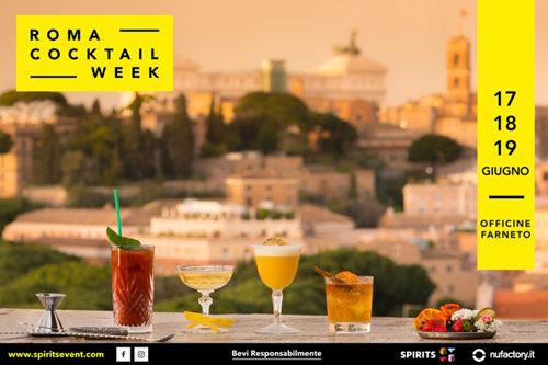 Roma Cocktail Week, terza edizione