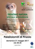 """Spettacolo """"Trentino Natura. Speciale Biodiversità"""" a Pinzolo con monsignor Tisi"""