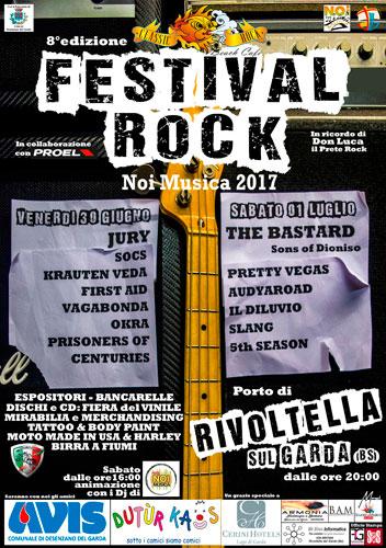 8° Festival ROCK – NOI MUSICA 2017