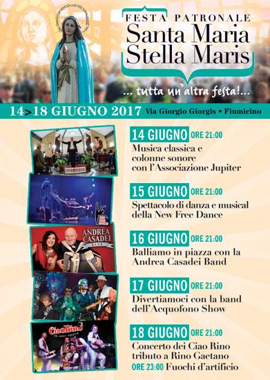 Festa Patronale Stella Maris a Fiumicino