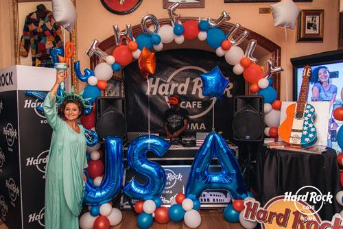 Hard Rock Cafe Roma festeggia il 4 luglio con il Freakshake