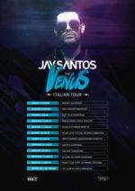 Jay Santos, tutte le date del tour in Italia