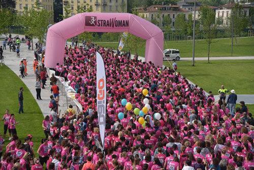 Strawoman, la corsa tutta al femminile, approda a Como