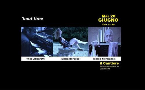 Il Cantiere di Via Gustavo Modena ospita la performance/spettacolo/evento Bout Time