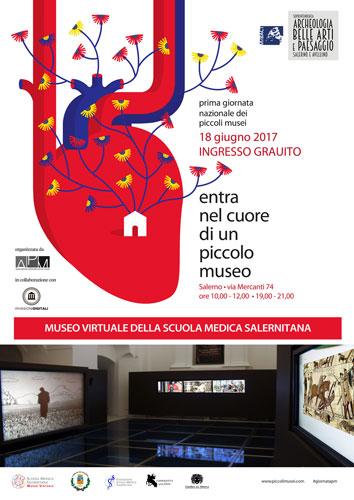 Giornata Nazionale dei Piccoli Musei, ingresso gratuito al Museo Virtuale della Scuola Medica Salernitana