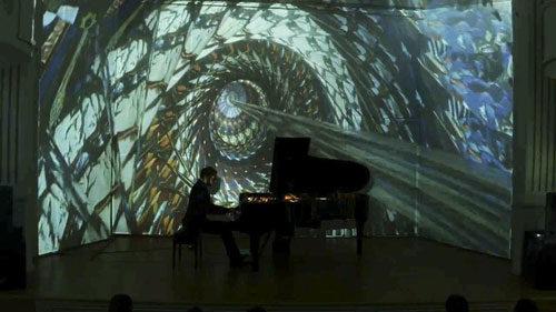 Suoni e visioni. Metamorphosis, composizioni e pianoforte Matteo Ramon Arevalos