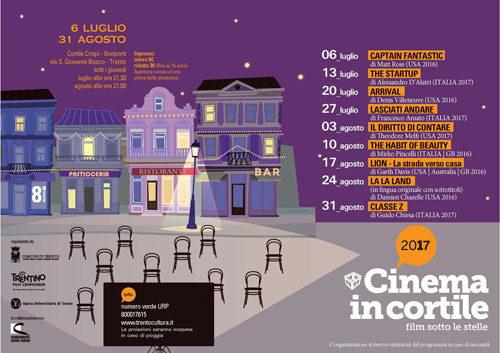 Per Cinema in Cortile c'è Arrival