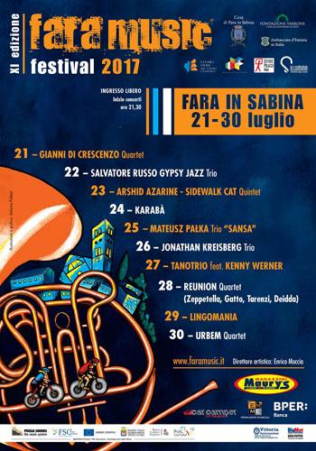 Fara Music Festival, al via la XI edizione