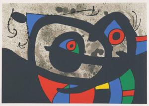 Miró, Le lézard aux plumes d'or in mostra a Recanati