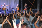 Folla oceanica per la Rino Gaetano band, ospite del festival Il Federiciano