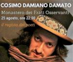 Incontro con il regista dei poeti Cosimo Damiano Damato