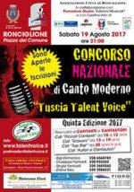 Tuscia Talent Voice V Edizione