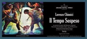 Arte, il maestro Lorenzo Chinnici in mostra a Taormina