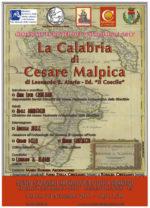 La Calabria di Cesare Malpica, il libro di Leonardo Alario