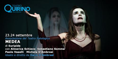 La Medea di Euripide in scena al Teatro Quirino di Roma