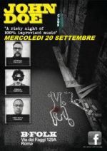 Lorenzo Feliciati presenta John Doe