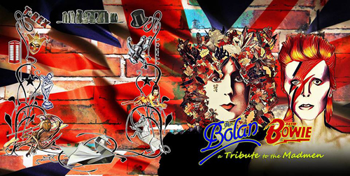 Black Widow Records, disponibile in versione deluxe i tributi a Marc Bolan e David Bowie!!!