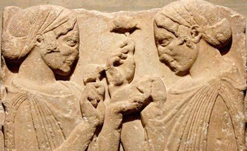 Mythos – Uomini e divinità nei miti antichi. Demetra e Persefone