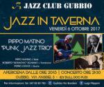 A Gubbio si inaugura la rassegna Jazz in Taverna con il Pippo Matino Punk Jazz Trio