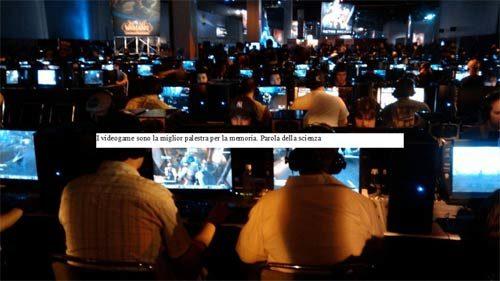 I videogame sono la miglior palestra per la memoria. Parola della scienza