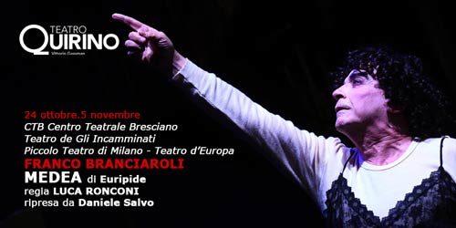 La Medea di Euripide con Franco Branciaroli in scena al Teatro Quirino di Roma