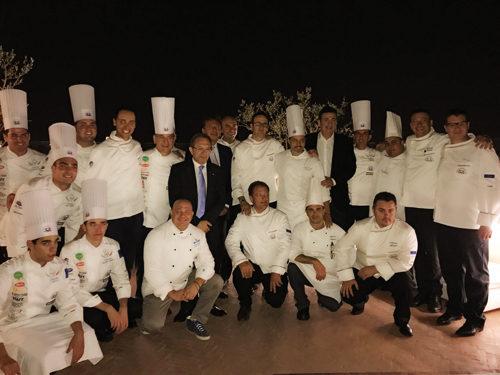 """L'executive chef Niko Sinisgalli protagonista per """"La nazionale dei cuochi Italiani"""""""
