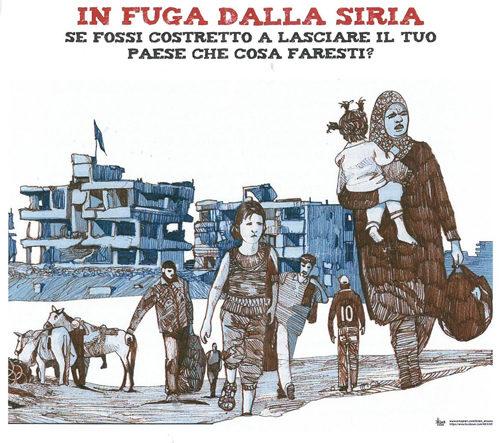 Una mostra interattiva per riflettere sulla situazione della Siria