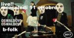 B-FOLK presenta Oswaldovi live music