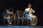 Elena Arvigo in I Monologhi dell'atomica al Teatro di Villa Torlonia di Roma