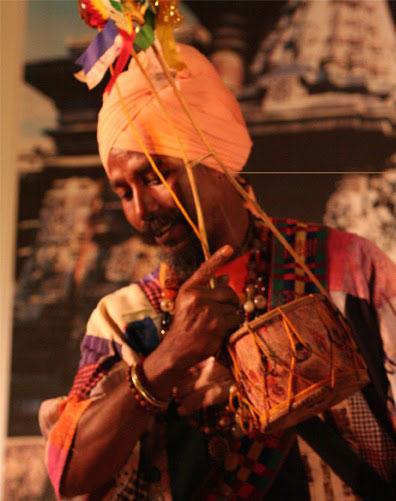 Il concerto di Satyananda Das Baul al Teatro Verde di Roma