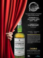 Torna 'A tutta Torba' evento gratuito sui whisky torbati con centinaia di etichette, il Laphroaig cocktail bar e il food di Trapizzino