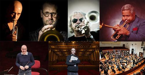 Moncalieri Jazz. Gran finale con l'omaggio a Dizzie Gillespie di Boltro, Bosso, Rava + Orchestra Sinfonica della Rai