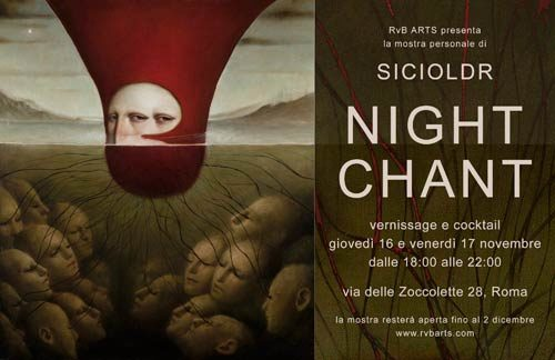 Night Chant, la mostra personale di Sicioldr
