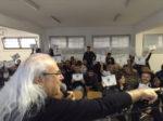 Inaugurazione della sonorizzazione dei corridoi della sezione femminile del carcere di Rebibbia