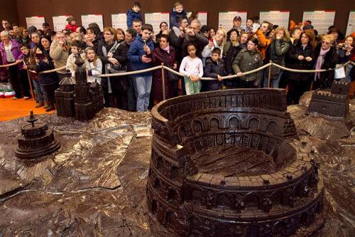 La Fabbrica-Museo del Cioccolato, il parco tematico più goloso alla Fiera di Roma