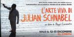 L'arte viva di Julian Schnabel. Il film evento, diretto da Pappi Corsicato, dedicato alla superstar