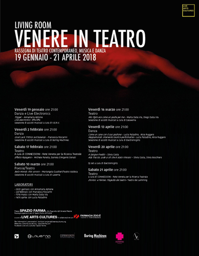 Living Room – Venere in Teatro